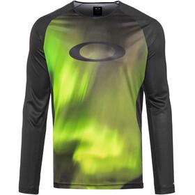 Oakley MTB Bike Jersey Longsleeve Men green/black
